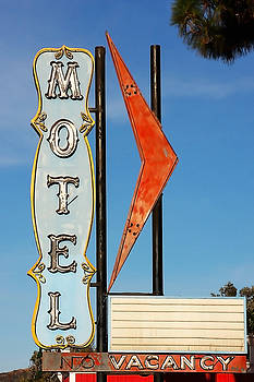 Art Block Collections - Vintage Motel Sign