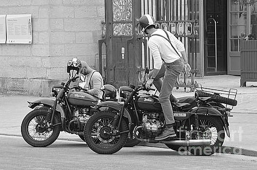Vintage Motor Bike by Andy Thompson