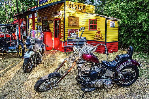 Venetia Featherstone-Witty - Vintage Motorcycles in San Isidro, Argentina