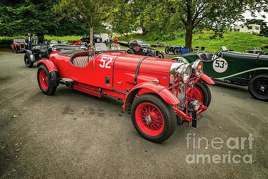 Vintage Motors by Adrian Evans