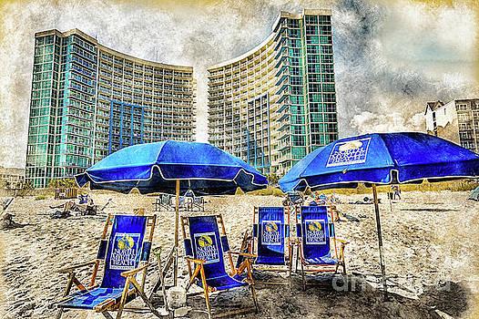 Vintage North Myrtle Beach By David Smith