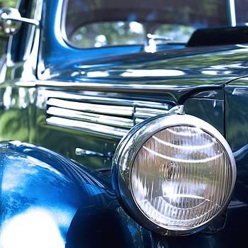 Vintage Packard circa 1938 by Heidi Hermes