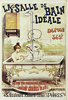Vintage Paris Bathtub by Mindy Sommers