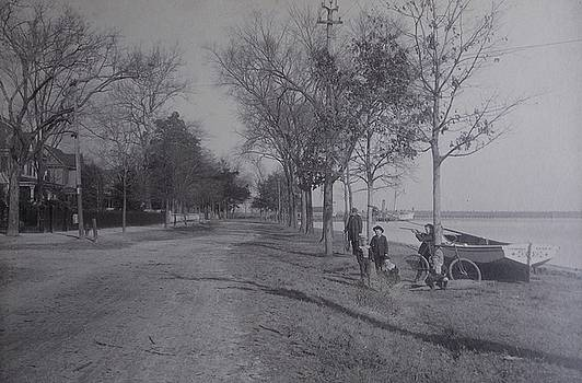 Vintage photograph 1902 Front Street New Bern NC by Virginia Coyle