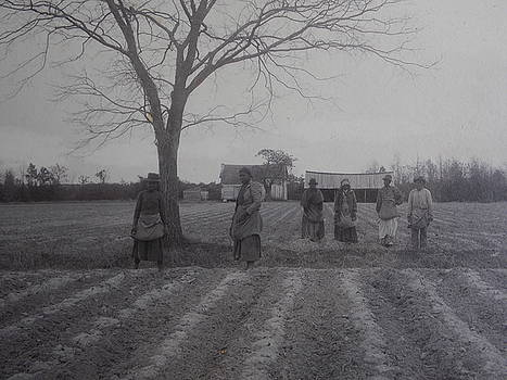 Vintage Photograph 1902 New Bern North Carolina Sharecroppers by Virginia Coyle