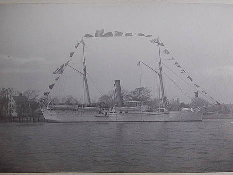 Vintage photograph USRC Boutwell New Bern NC by Virginia Coyle