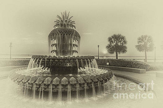 Dale Powell - Vintage Pineapple Fountain