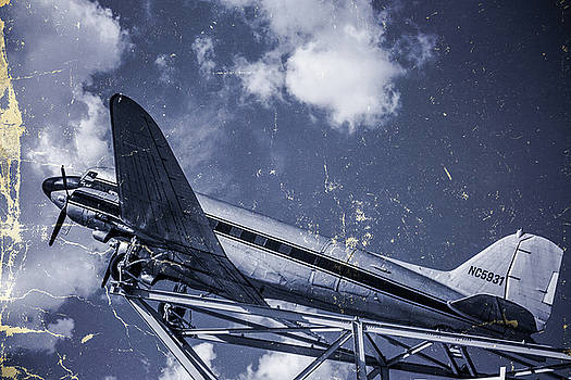 Vintage Plane Blues by Steven Bateson
