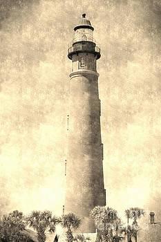 Vintage Ponce Inlet Lighthouse by Jennifer Capo