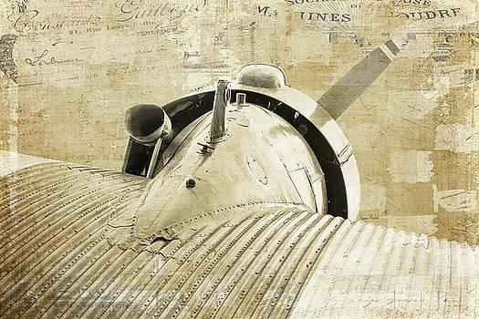 Vintage Propeller Aircraft by Ramona Murdock