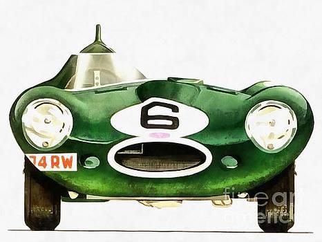 Edward Fielding - Vintage Racing Jag