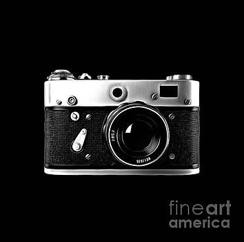 Vintage Rangefinder Film Camera by Edward Fielding