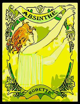 Larry Lamb - Vintage remastered absinthe poster
