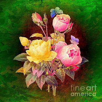Vintage Roses by Clive Littin