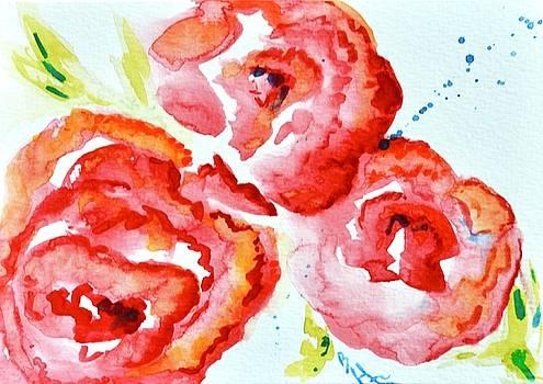 Vintage Roses II by Beverley Harper Tinsley