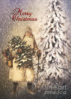 Vintage Santa  by Pam  Holdsworth