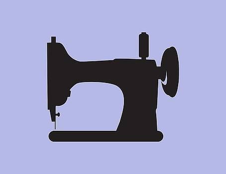 Vintage Sewing Machine by Nancy Lorene