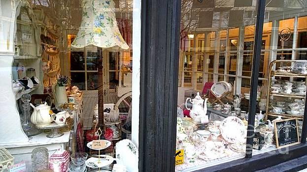 Vintage shop window by Agnes V
