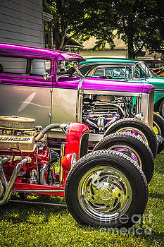 Vintage Street Rods by Tony  Bazidlo