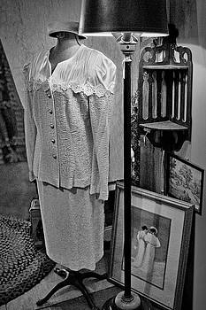 Nikolyn McDonald - Vintage Suit - Floor Lamp