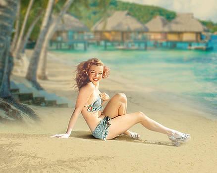 Marilyn Monroe by Cindy Grundsten
