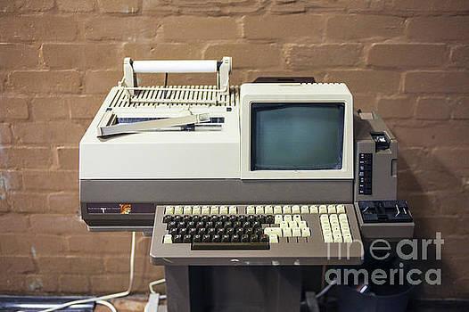 Patricia Hofmeester - Vintage telex machine of the 1970