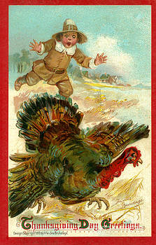 Dale Powell - Vintage Thanksgiving Day Card
