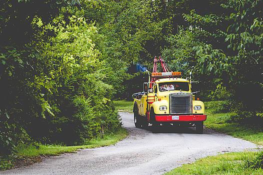 Lisa Lemmons-Powers - Vintage Tow Truck
