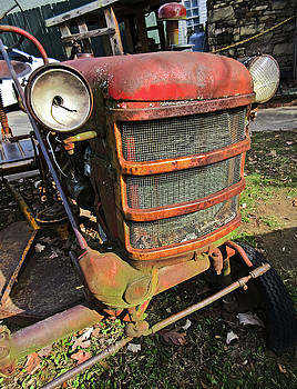 Vintage Tractor Mower by Tony Grider
