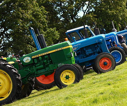 Vintage Tractors by Art  Creations