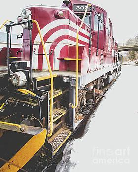 Edward Fielding - Vintage Train Locomotive