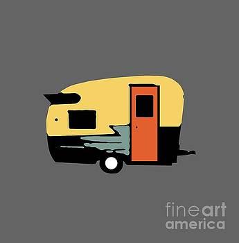 Edward Fielding - Vintage Travel Camper Transparent
