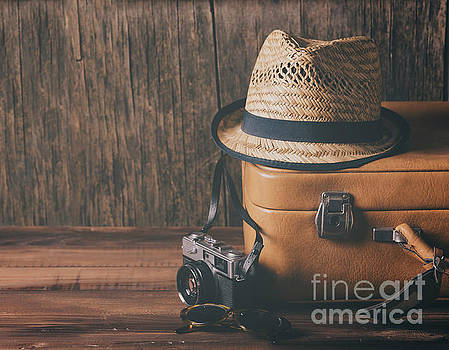 Vintage travel concept by Jelena Jovanovic