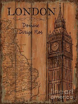Vintage Travel London by Debbie DeWitt