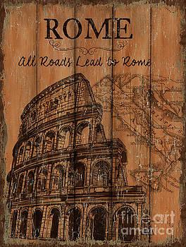 Vintage Travel Rome by Debbie DeWitt