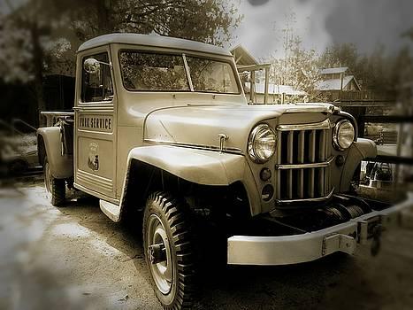 Vintage Truck by Guy Hoffman