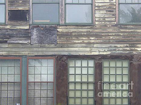 Vintage Warehouse Building by Phil Perkins