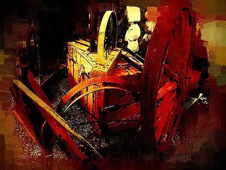 Vintage Wheels by Robert Smerecki