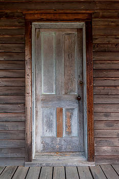 Terry DeLuco - Vintage Wood Door