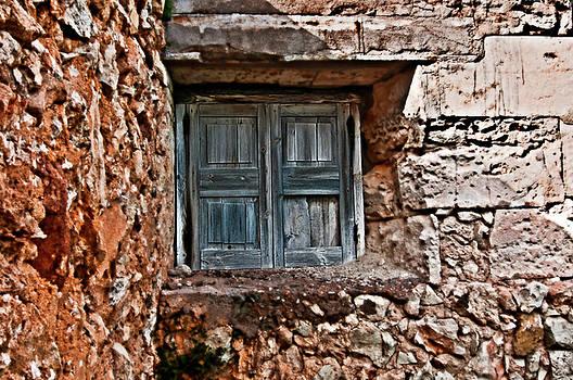 Pedro Cardona Llambias - Vintage wood window