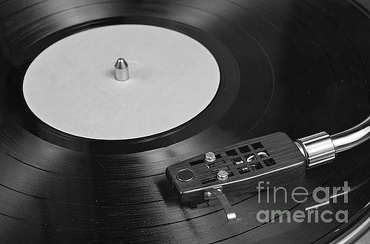 Angelo DeVal - Vinyl Record Playing on a Turntable Overview