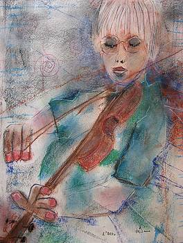 Viola. by Michael Sime