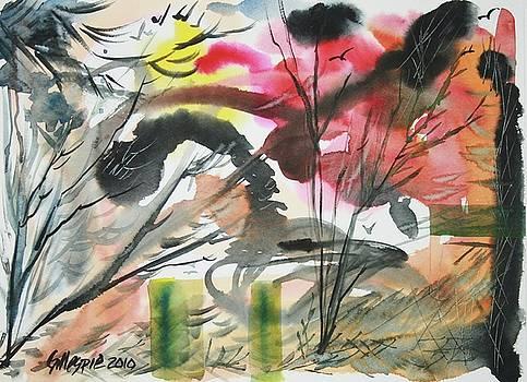 Violent Skies by Ted Gillespie