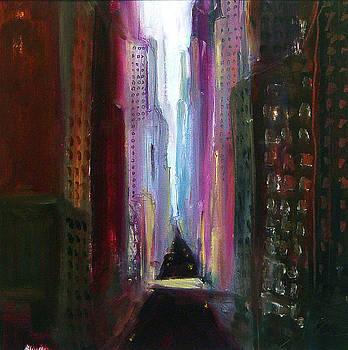 Violet Canyon NYC by Richard Morin