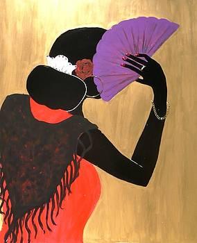 Violet Fan by Carla Campea