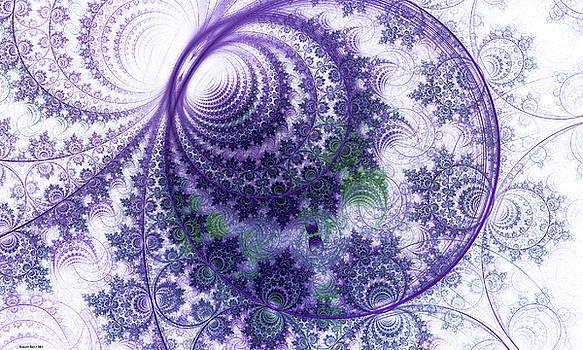 Violet Garden by Lorant Zsolt
