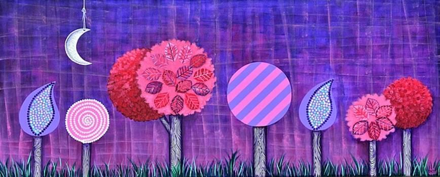 Violet Grove by Graciela Bello