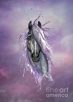 Violet Horse by Angel Ciesniarska