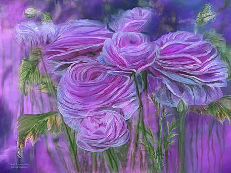 Violet Ranunculus by Carol Cavalaris