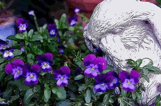 Violets by Moonlight by Lorrie Morrison